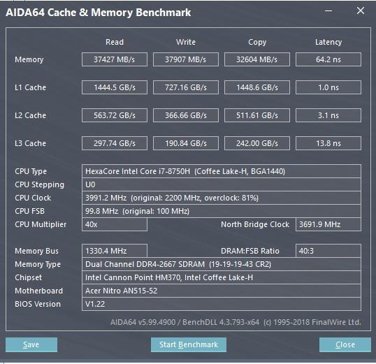 Обзор Acer Nitro 5 2018: симпатичный игровой ноутбук с Intel Core i7 8-го поколения изображение