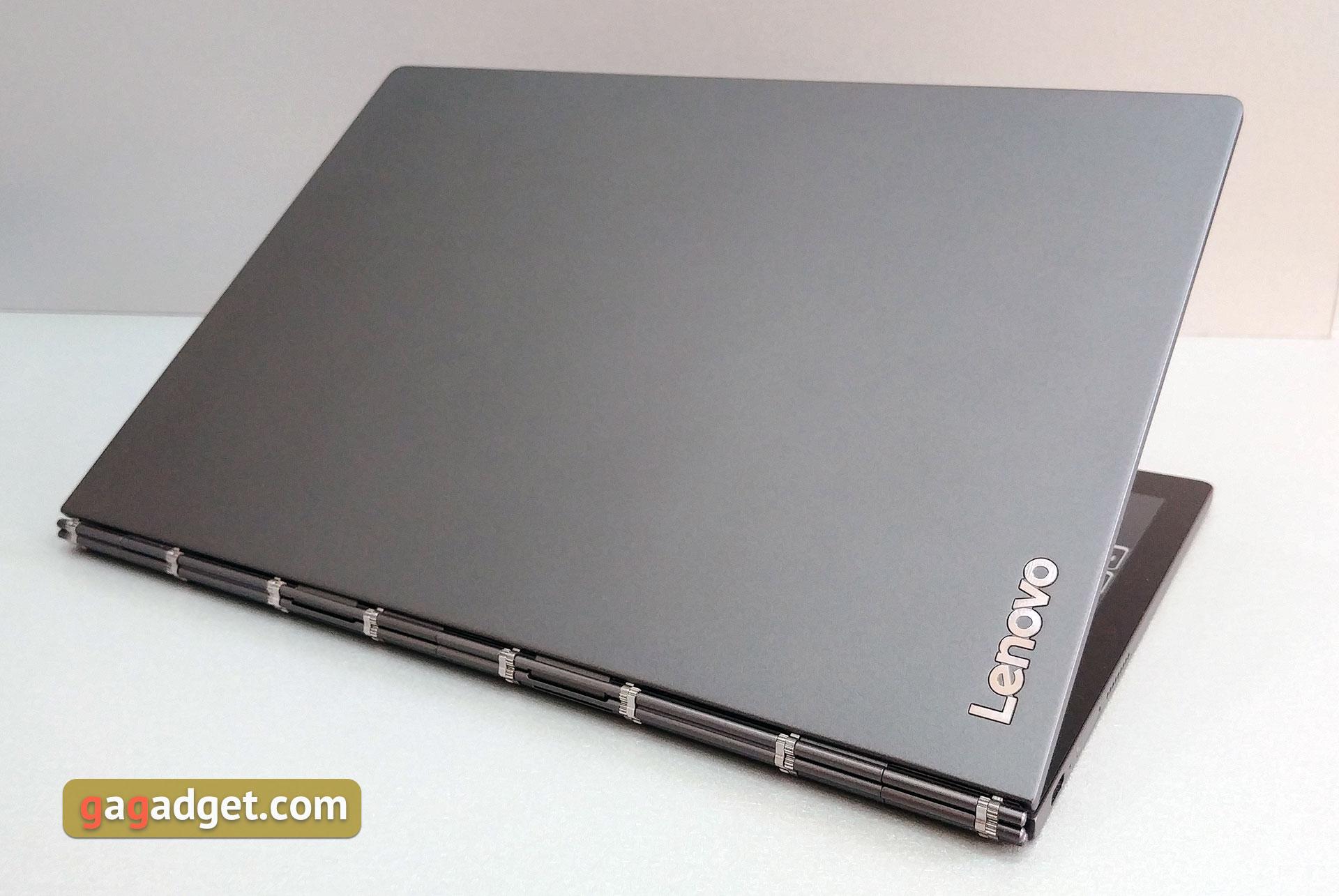Обзор Lenovo Yoga Book C930: ноутбук-трансформер с двумя сенсорными экранами изображение