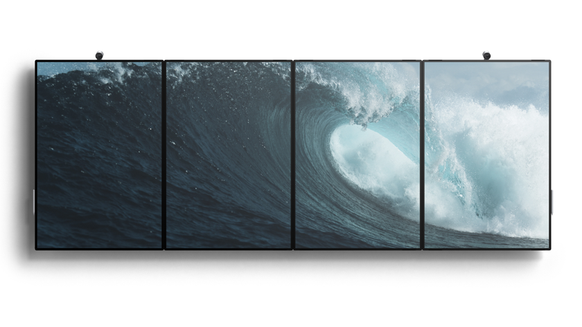 Microsoft introduced Surface Hub 2: 4K-screen at 50.5 inches, Windows 10 and corporate applications