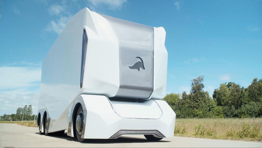 Осенью на дорогах появятся шведские беспилотные грузовики Einride T-pod