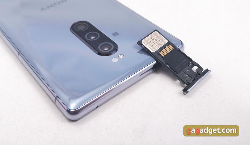 "Обзор Sony Xperia 1: ""высокий"" флагман с 4K HDR OLED дисплеем-9"