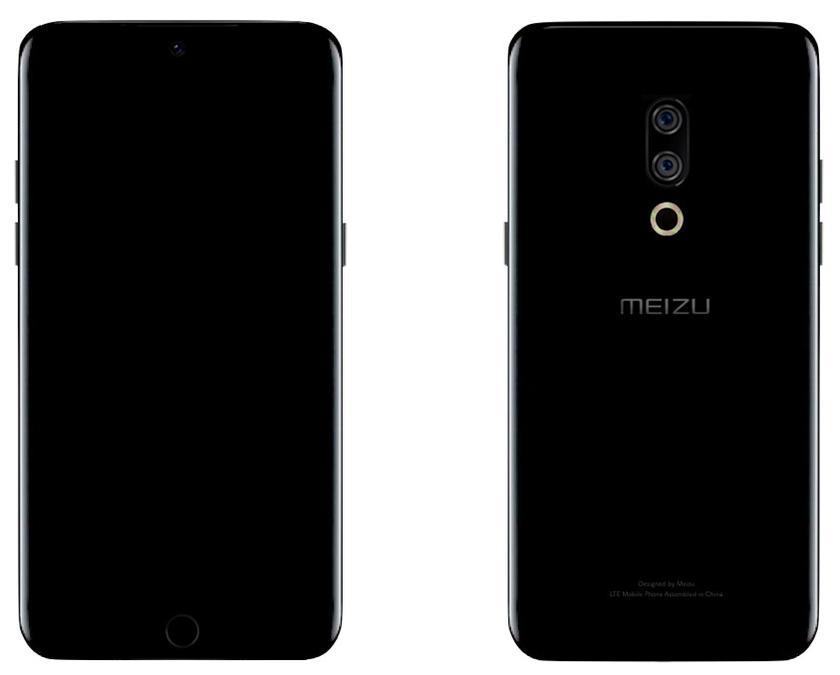 Правдоподобные рендеры смартфона Meizu 15 Plus