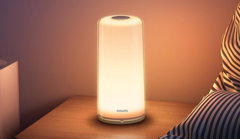 Xiaomi представила «умный» светильник Philips Zhirui Bedside Lamp