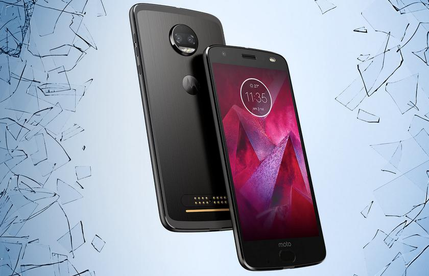Flagman Moto Z2 Force arrived in Ukraine with a price tag of 17995 hryvnia