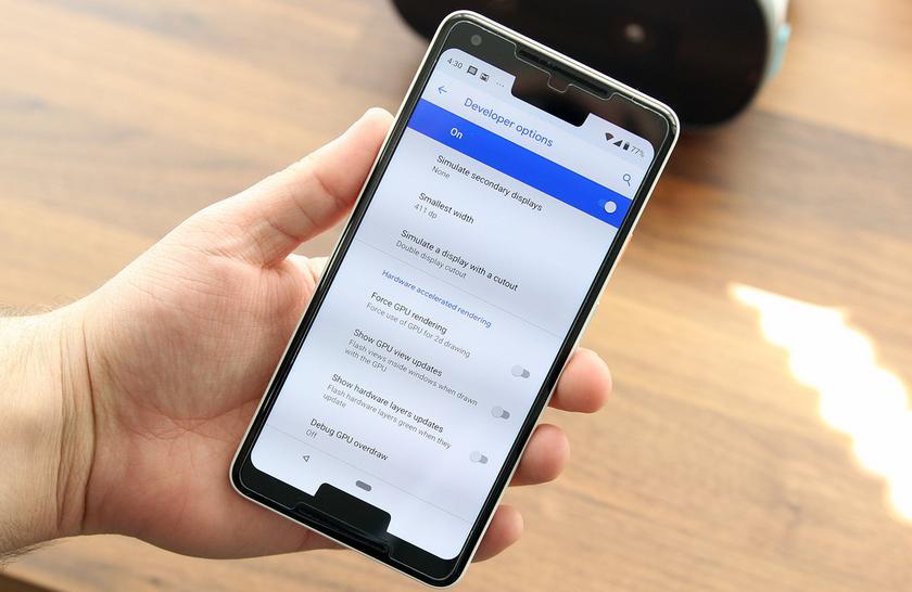 Android P показал будущее смартфонов с двумя вырезами. Выглядит не очень