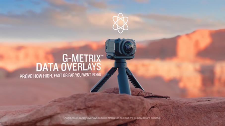 Представлена камера Garmin VIRB 360 для съемки сферических панорам разрешением 5,7K