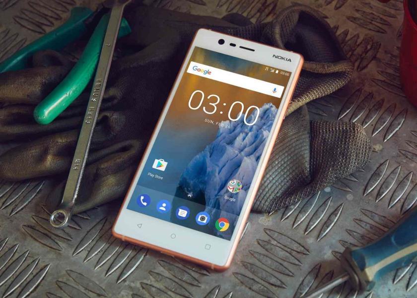 В сети появилось изображение Nokia 3 (2018)