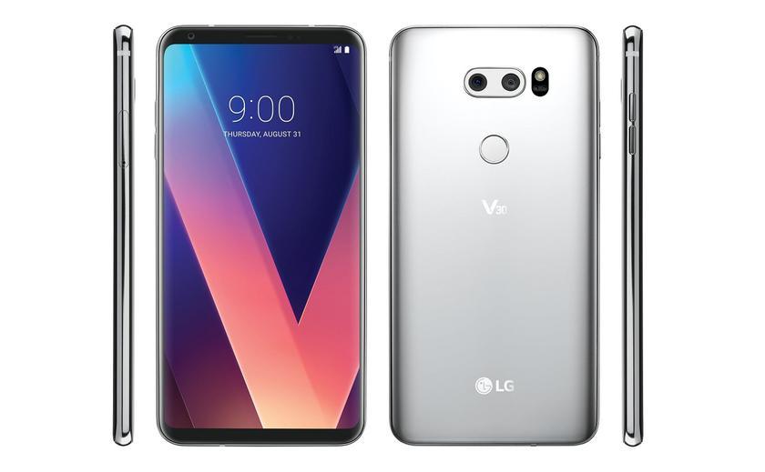 Флагман LG V40 получит OLED-экран, чип Snapdragon 845 и беспроводную зарядку