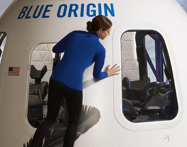 Blue Origin строит три ракеты New Shepard для космического туризма