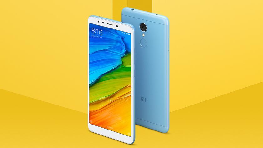 Xiaomi выпустила версию смартфона Redmi 5 с 4 ГБ ОЗУ и ценником $170
