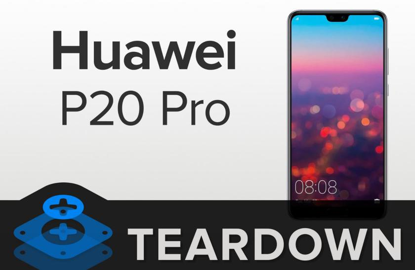 Huawei P20 Pro received 4 points out of 10 on the maintainability scale iFixit