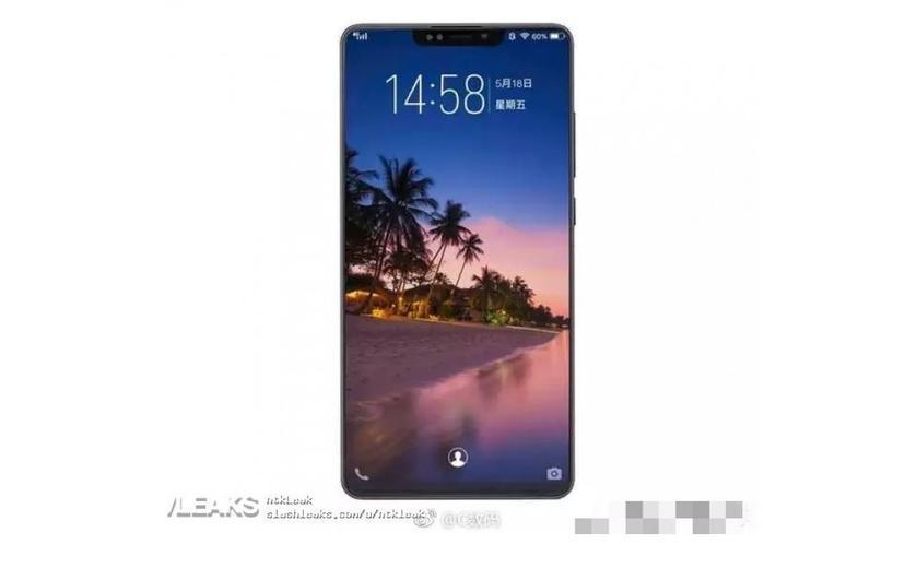 Представлен дизайн наиболее вероятной версии флагмана Xiaomi Mi 8