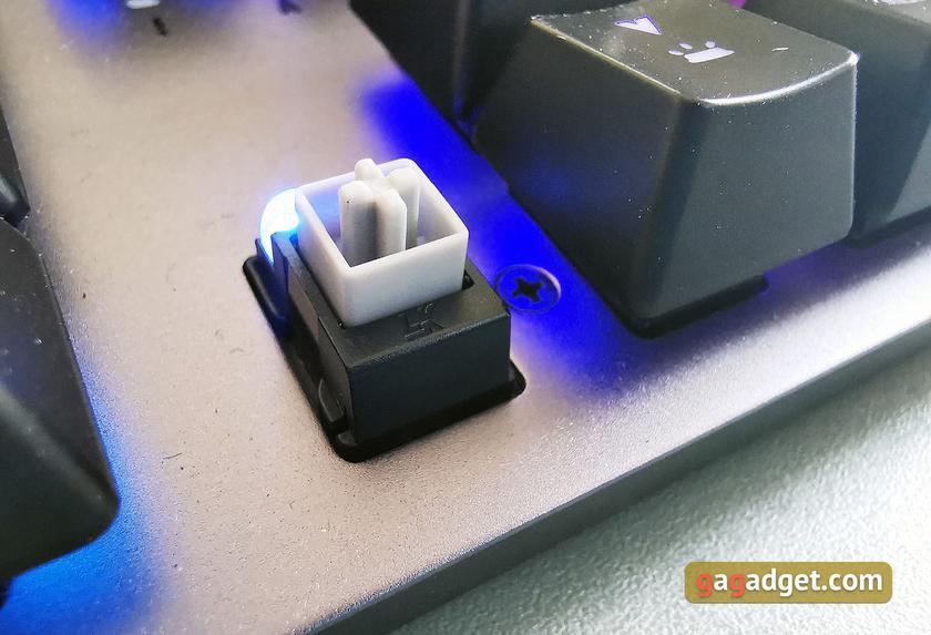 Обзор ASUS TUF Gaming K7: молниеносная игровая клавиатура с пыле- и влагозащитой-22