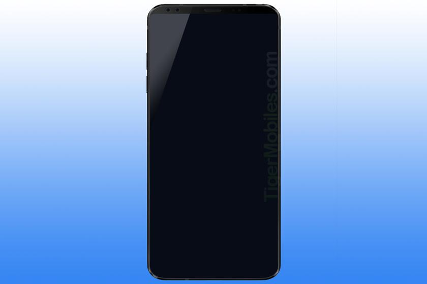 The first render of the flagship LG G7