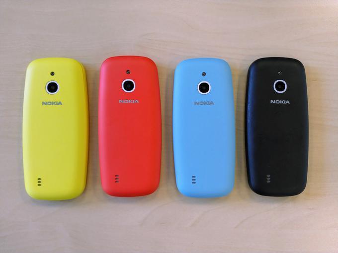 Нокиа представила телефон 3310 3G
