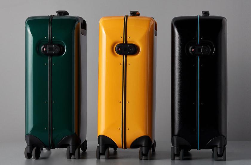 Xiaomi представила чемодан 90 Points со сканером отпечатков пальцев