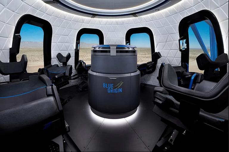 Путешествие вкосмос сBlue Origin займет 40 мин.