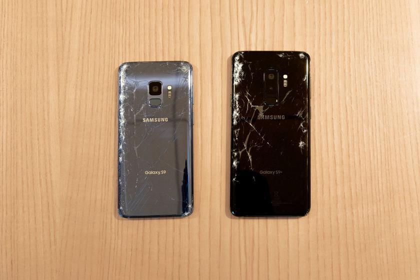 Samsung Galaxy S9 и S9+ оказались прочнее S8 и iPhone X