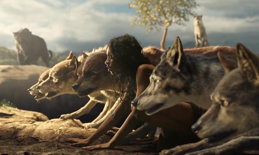 Вышел первый трейлер новой экранизации «Маугли»