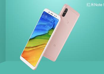 В Китае прошла презентация Xiaomi Redmi Note 5
