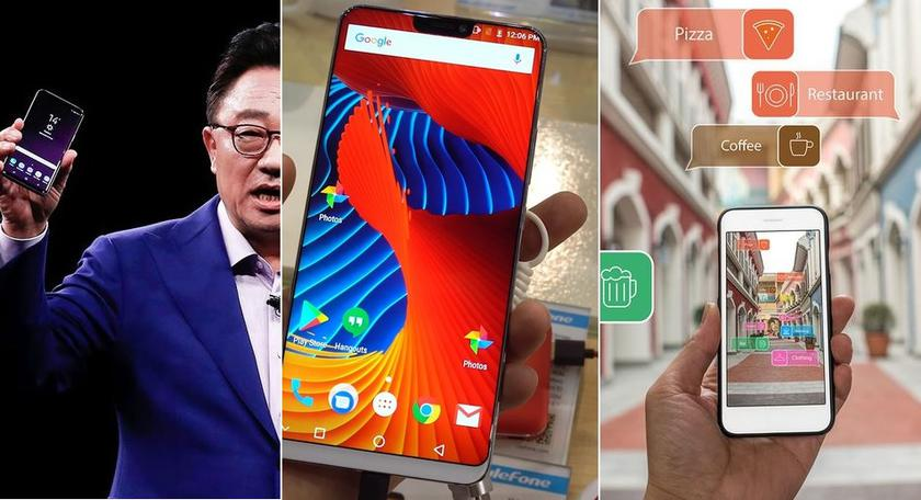 The results of the week: the 10 most powerful smartphones AnTuTu January, Galaxy J8 in Geekbench and the announcement of a protected smartphone CAT S61
