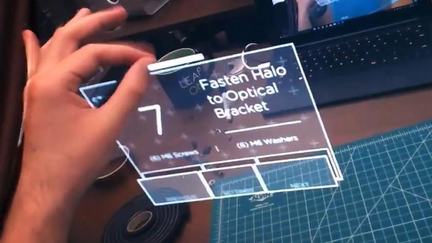 Leap Motion показала AR-интерфейс в стиле Железного человека