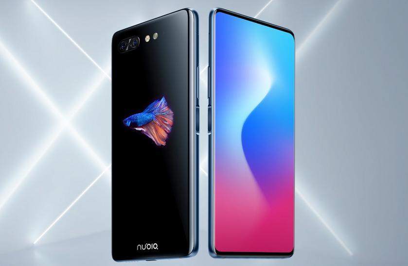Представлен смартфон Nubia X с 2-мя дисплеями