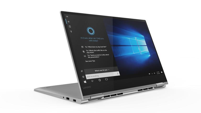Lenovo продемонстрировала ноутбуки-трансформеры Yoga 730 иYoga 530