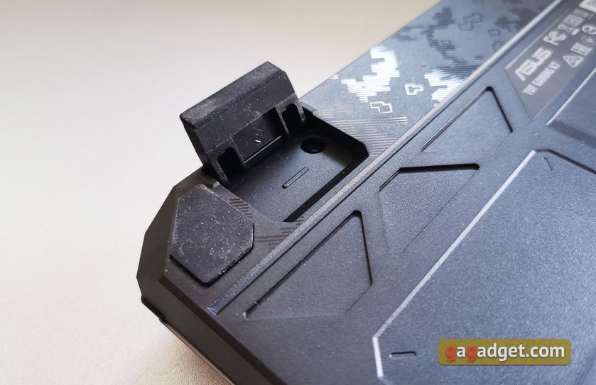 Обзор ASUS TUF Gaming K7: молниеносная игровая клавиатура с пыле- и влагозащитой-13