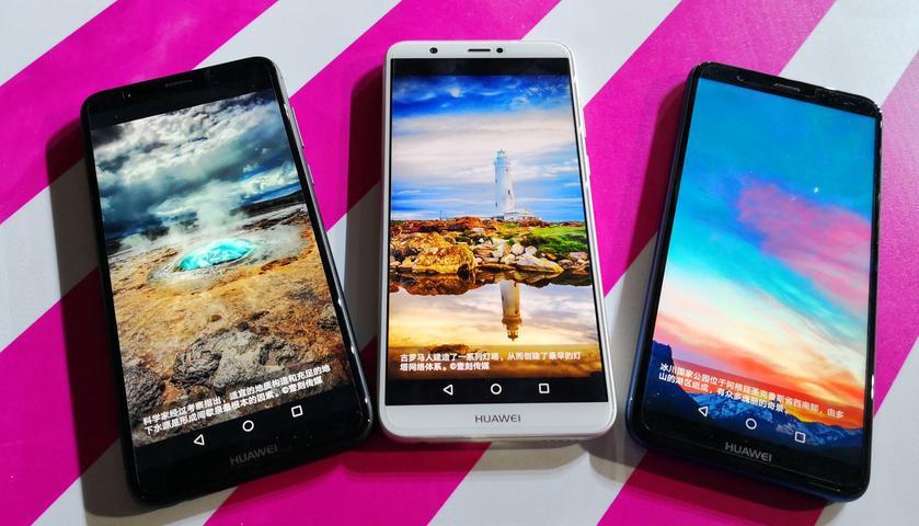 Huawei представила дешевый смартфон свнешностью флагмана Enjoy 7S