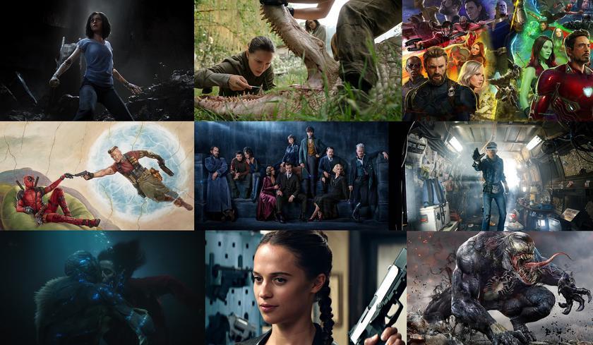 Анонс вышедших в прокат фильмов в 2018