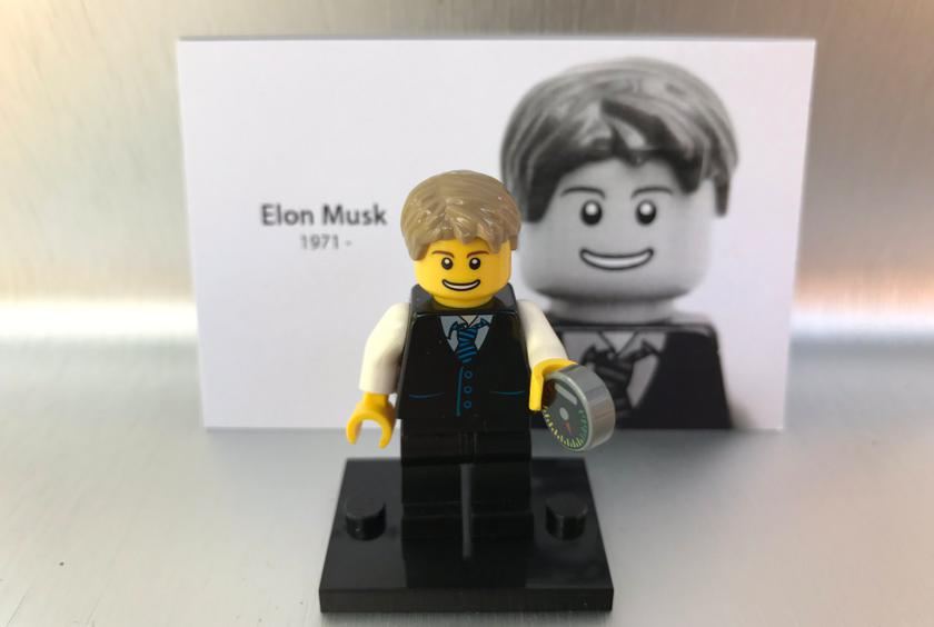Ilon Mask will sell Lego-bricks produced during drilling of tunnels ...
