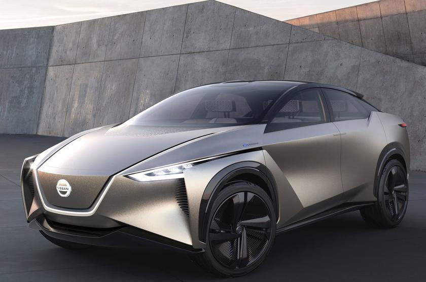 Электрический кроссовер Nissan IMx запустят в массовое производство