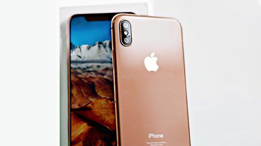 Apple выпустит iPhone X в розово-золотом оттенке Blush Gold