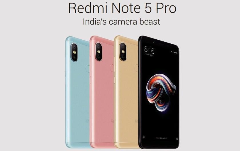 Фото Xiaomi Redmi Note 5 Pro и все характеристики смартфона за день до