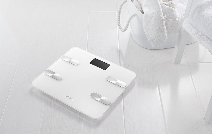 Нарынки поступили «интеллектуальные» весы компании Meizu