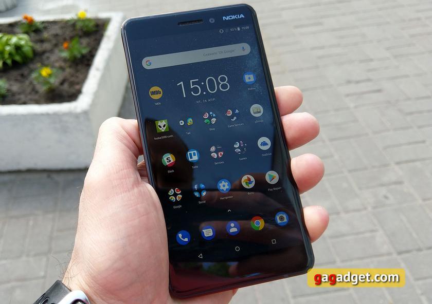 Обзор Nokia 6.1 (2018): стильно и недорого-17