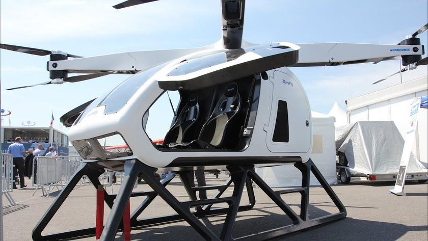 Состоялся первый тестовый полет летающего такси SureFly