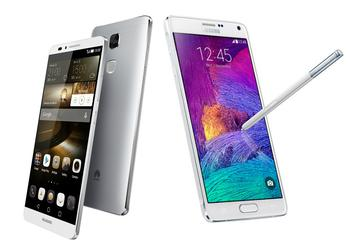 Samsung Galaxy Note 4 или Huawei Mate7?