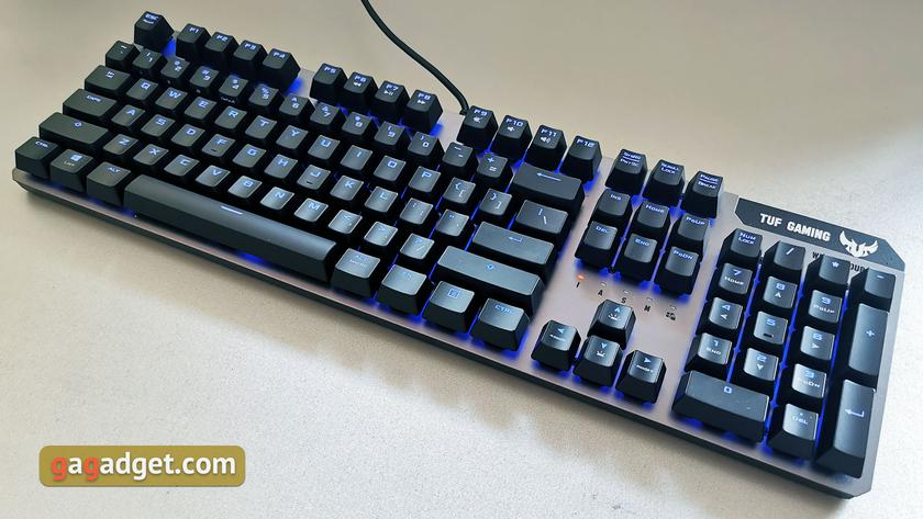 Обзор ASUS TUF Gaming K7: молниеносная игровая клавиатура с пыле- и влагозащитой-4