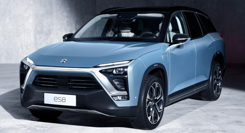 Nio released a stylish electric car NIO ES8, which costs twice as cheap as the Tesla Model X