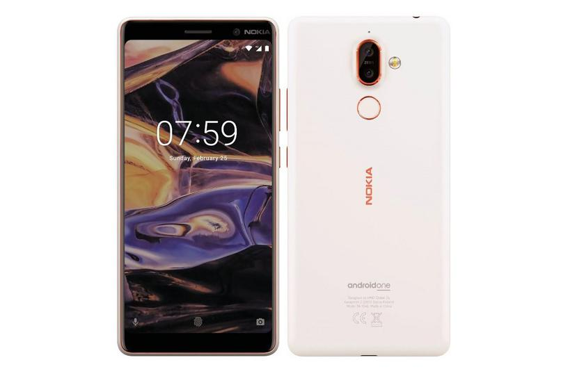 "The network got ""live"" photos Nokia 7 Plus and Nokia 1"