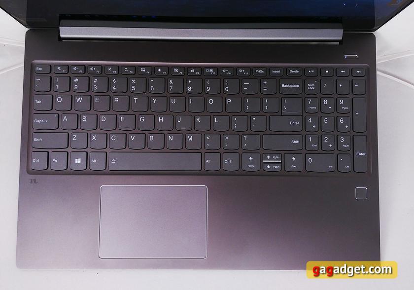 Обзор Lenovo IdeaPad 720s–15IKB: ноутбук для работы и игр-13