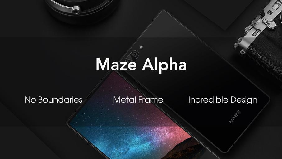 Смартфон Maze Alpha без рамок - скоро у продажу-4