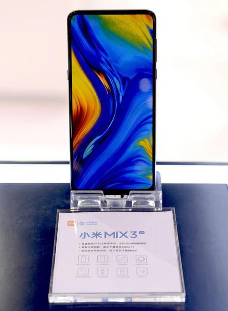 Xiaomi показала 5G-версию безрамочника Mi Mix 3 на Snapdragon 855