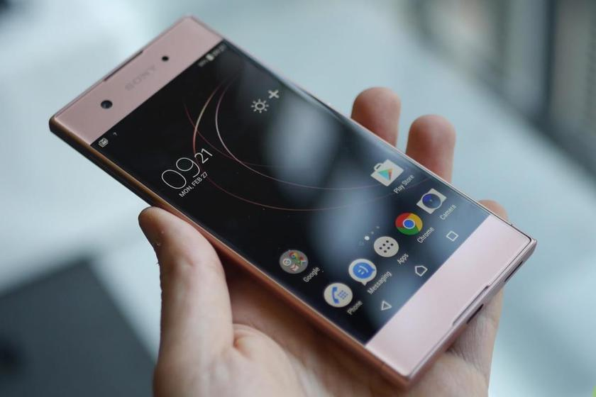 """Live"" photos Sony Xperia XA2 Ultra: all the same sharp angles and minimum changes"