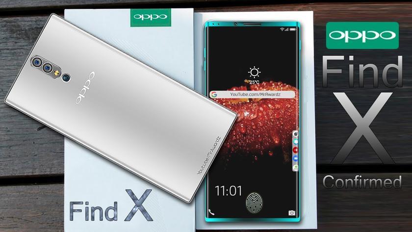 Вweb-сети интернет появился ролик флагманского телефона OPPO Find X