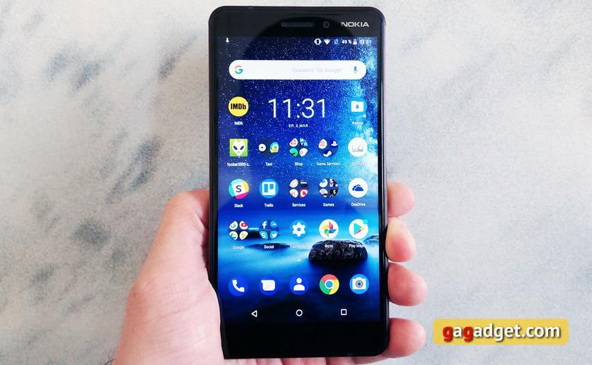 Обзор Nokia 6.1 (2018): стильно и недорого-4