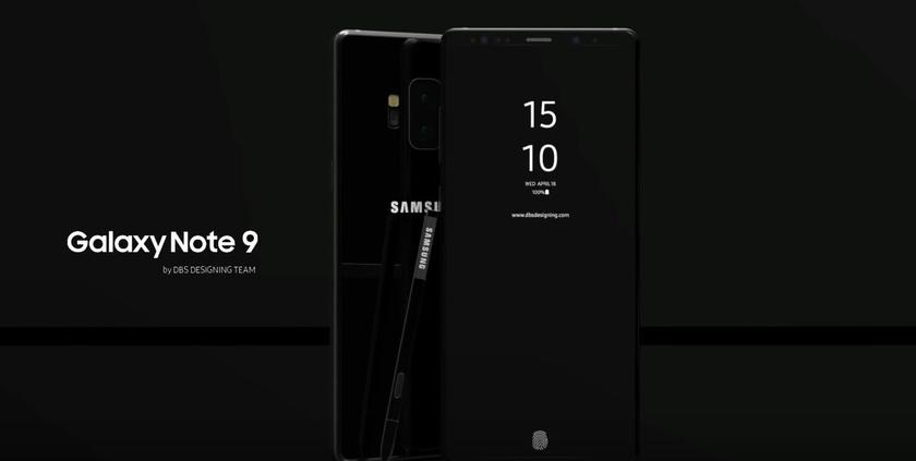 "Samsung Galaxy Note 9 received the code name - ""Crown"""