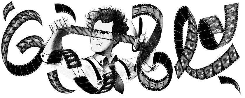 Дудл Google празднует 120 лет со дня рождения Сергея Эйзенштейна